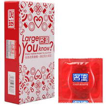Hot Sale 10pcs/pack Large Size Condoms Natural Latex Ultra Thin Condom Preservativos Condones Sex Products Safe Contraception