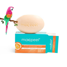 maxi-peel micro-exfoliant soap with papaya enzymes anti-acne smoothening lightening wholesale free shipping(China)