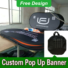 Free Design Free Shipping Horizontal A Frame Banner Custom Pop Up Banners Pop Up Sideline Banners(China)