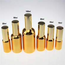 100pcs 1 ounce unique fine mist glass spray bottle ,30ml empty glass spray paint golden, wholesale 30 ml perfume atomizer bottle