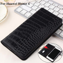 High Quality PU leather Case For Huawei Honor 6 Phone Case Flip Cover For HUAWEI Honor 6 Business Wallet Style Cover