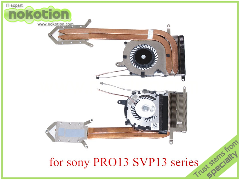 laptop heatsink and cooling fan for sony vaio Pro13 svp13 series  300-0001-2755<br><br>Aliexpress