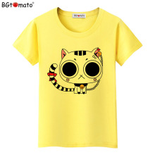 BGtomato Lovely cat t-shirts Hot sale original brand cat tops short sleeve casual shirts summer cool tees cheap sale