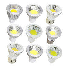 GU10 MR16 E27 E14 Led Spotlight Lamp 220V 110V GU5.3 Leds Light 6W 9W 12W COB Lamps Bombillas Led Lamparas Lights For Lighting(China)