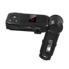 KROAK 12V-24V Auto Stereo Bluetooth Hands Free Car Kit FM Transmitter U Disk TF Card MP3 Music Player Bluetooth Telephone(China)
