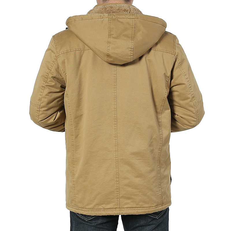 High Quality New Winter Men Brand Jacket Men's Warm Jackets Man's Coat Autumn Fleece Cotton Parka Outdoors Coats Plus size M-8XL