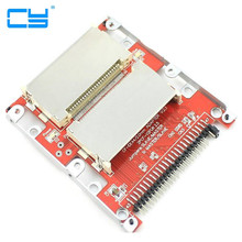 "Dual CF Compact Flash de 2.5 ""44 pinos IDE SSD Hard Disk Drive HDD Adapter Plug Frete Gratis(China)"