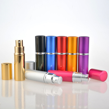 10 Pieces/Lot 10ML Mini Portable For Traveler Perfume Bottle With Spray&Empty Parfum Case  With Colorful
