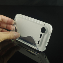 CASEISHERE Soft S-Line Wave Anti-skid TPU Gel Case Skin for HTC Incredible S G11 S710E(China)