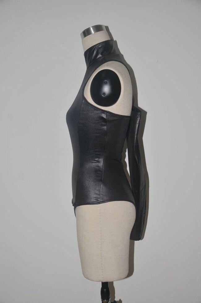 Luggage & Bags Objective Sexy High Cut Turtleneck Bodysuit Thong Swimsuit Pu Faux Leather Erotic Leotard Costumes Latex Bodysuit Swimwear Club Wear
