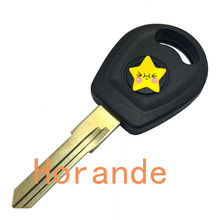 key shell for VW jetta car transponder key shell fob replacement key case fob no chip