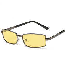 2017 Fishing Eyewear Night Vision Men Polarized Sunglasses Metal High Definition Driving Sun Glasses 2043