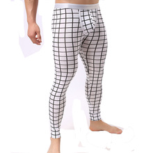 Modal Thermal Underwear Men Tights Compression Long Johns Warm Legging Sexy Elastic Mens Pyjama Bottoms Calzoncillos Largos(China)