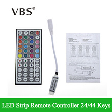 Practical DC 12V 44 Keys LED Controller IR Remote Controller RGB LED Strip Light 44 Key RGB Remote Free Shipping(China)