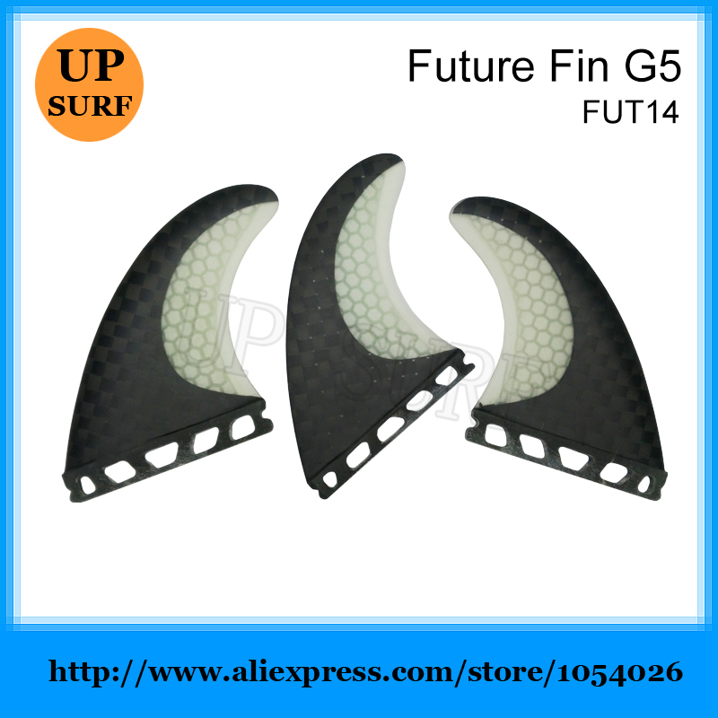 Barbatana de Surf Black Carbon Honeycom Fin Surfing Future Fin SUP Surfboard Fins<br>