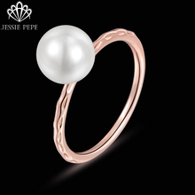 Jessie Pepe Italina Simple Style Simulated Pearl Rings Anel joias de perolaTop Quality Welcome Wholesale DC1989#JP10581
