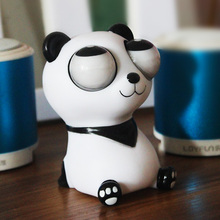 10cm Panda Anti Stress Squeeze Toys Funny Gags Practical Jokes Gadgets Joke Funny Gift Squeeze Toy Anti Stress Kids Toys(China)