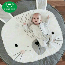 Portable Kids Toy Storage Bags baby play mat educational toys gift gym blanket Baby Pads Activity Play Mat Cotton Play Mat(China)