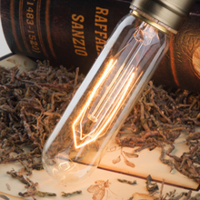 2PCS 60watt T10 Antique Style Antiques Radio Tube Incandescent Medium Base Light Bulbs 220V/110V