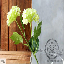[37cm length] 4 colour option real touch decorative flowers hydrangea artificial hydrangea silk flowers for wedding party home