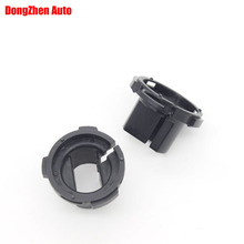 10PCS  HID Xenon Headlight H7 Adapter Holder Base For WV Touran 2013 For Ford ESCAPE KUGA Octavia Auto Car Accessories
