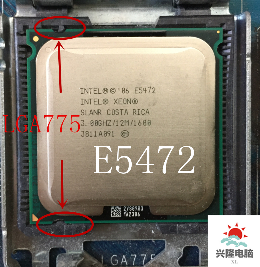 Intel Xeon L5420 server Processor CPU//2.5GHz //LGA775//L2 Cache 12MB//Quad-Core//