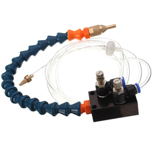 Buy High Quality Mist Coolant Lubrication System Engraving Machine Spray Cooling Unit 8mm Air Pipe CNC Lathe Milling Drill