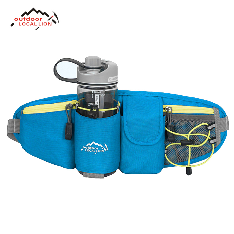 LOCAL LION Sports Bicycle Waist Bags Waterproof Comfortable Ultra-light Multifunction Outdoor Cycling Bicycle Bike Running Bags