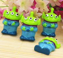 15pcs/lot flat back resin resin monsters ,DIY resin craft accessories fashion resin cabochons(China)