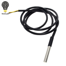 1PCS DS1820 Stainless steel package Waterproof DS18b20 temperature probe temperature sensor 18B20 For Arduino(China)