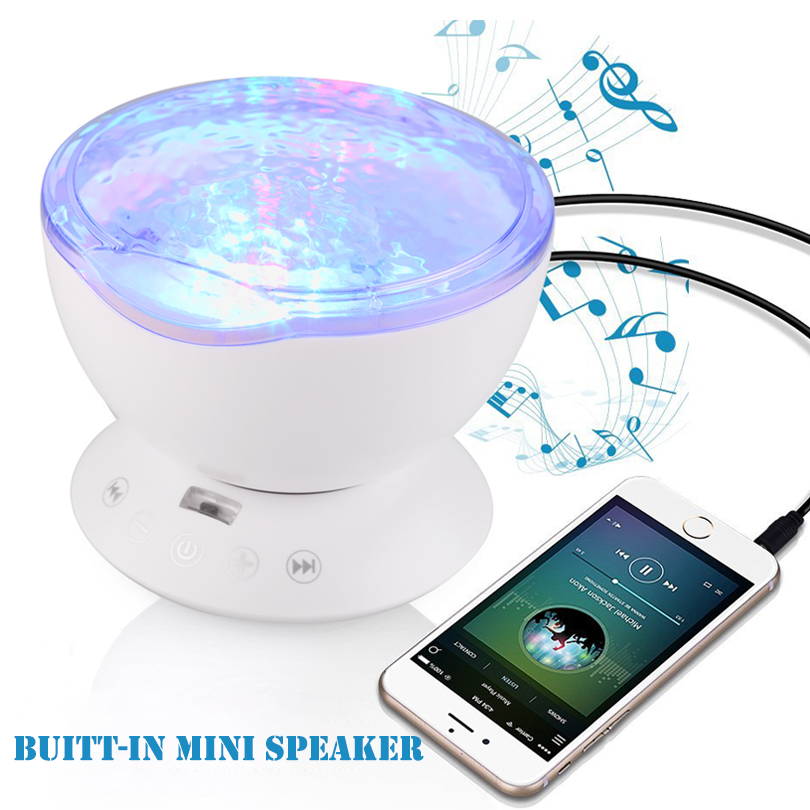Starry Sky Aurora LED Night Light