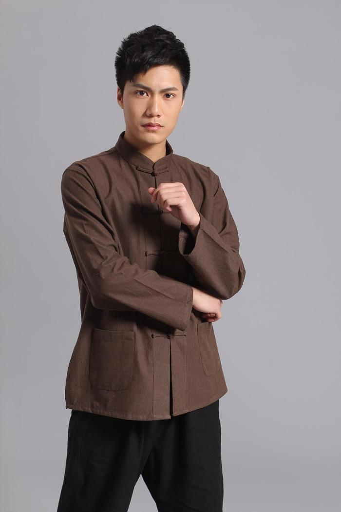 Long-Sleeve-Cotton-Traditional-Chinese-Clothes-Tang-Suit-Top-Kung-Fu-Tai-Chi-Uniform-Spring-Autumn(2)
