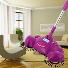 Lovely Pet New Arrival 360 Rotary Home Use Magic Manual Telescopic Floor Dust Sweeper drop shipping 0621(China)