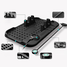 Multi-functional Silicone Anti-Slip Mat Car Mobile Phone Holder Charger