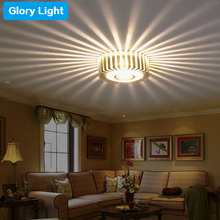 Glory Light G106 1/3W Hall stairs Porch led ceiling Lamp Sun Flower Creative LED Ceiling Lights bar cafe KTV background lighting