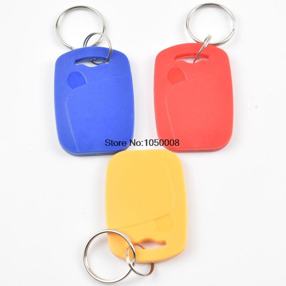 10PCS UID IC card Changeable Writable keyfobs key tags M1 13.56Mhz rfid NFC keyfobs Block 0 sector writable Multi color optional<br><br>Aliexpress