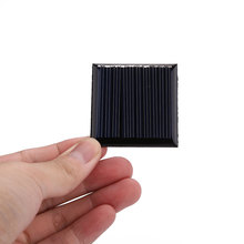 0.25W 5V Mini Solar Panel Cell Charger Polycrystalline Portable DIY Black