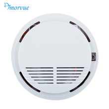 Amorvue Wireless Fire Smoke Sensor Detector Alarm Tester For Home Security Safety System Fire Alarm Smoke Detector Smoke Alarm(China)