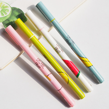 L48 4X Fresh Cute Fruit Gel Pen Student Writing Pens School Office Supply Stationery Promotion Gift  Rewarding