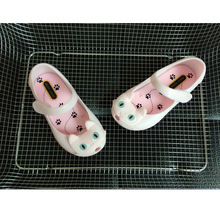 Summer Lovely Girls cat head jelly sandal shoes beach shoes