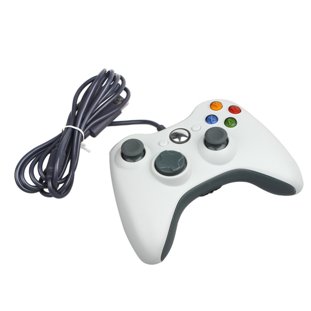 USB Wired Gamepad Controller for Microsoft Xbox 360 WII PS3 Slim PC Windows Joystick Gamepads for Game Lovers(China (Mainland))