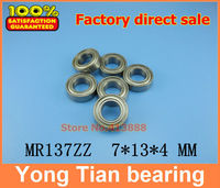 (1pcs) High quality miniature stainless steel deep groove ball bearing (stainless steel 440C material) SMR137ZZ 7*13*4 mm