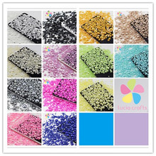 Lucia Crafts 1000pcs 50g Mix 2-10mm ABS Imitation Pearls Half Round Flatback Pearls Resin DIY decoration 15010004(2-10D1000)(China)