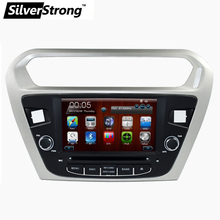 Free shipping 1 Din Car DVD Player for Peugeot 301 for Citroen Elysee 2014 Car DVD GPS BT Radio RDS Free Map rear view camera
