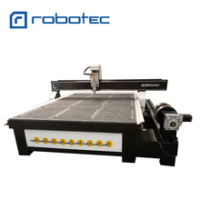 High quality 4 axis cnc router engraver machine 2030/ wood cnc router with vacuum system and dust collector(China)