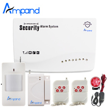 Russian English APP G11 control Voice 433MHz Wireless GSM Home Security Burglar Alarm System Auto Dialer  IOS Andriod SMS SIM