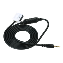 Hot sale Music Interface For BMW Z4 E85 X3 E83 3.5mm Mini Jack Aux In Adapter Cable for iPhone iPod MP3 CD player