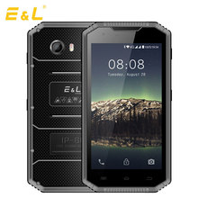 E&L W7s 4G Mobile Phone 5.0 inch Waterproof Shockproof IP68 Android 7.0 MTK6737 Quad Core 2GB RAM 16GB ROM 2800mAh Smartphone(China)