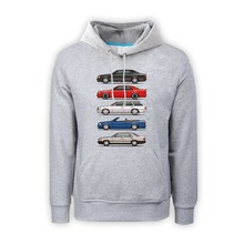 Stack of Mercedes W124 E Classic weatshirt Mens Pullover Hoodie vantage Sweatshirts clothing car styling Hoodies Boys male Hoody(China)