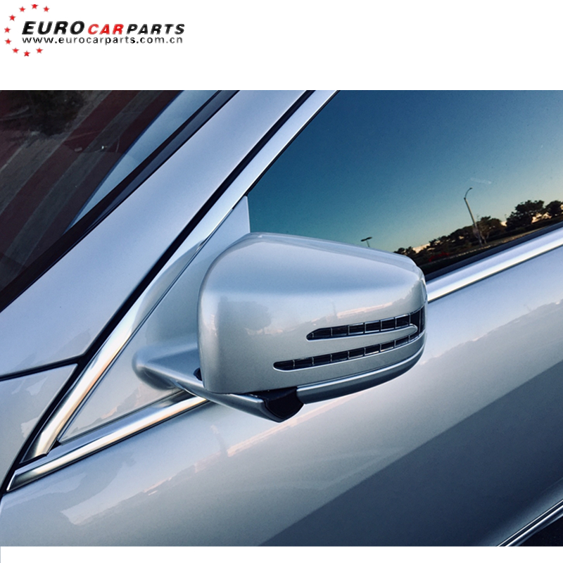 For Mercedes C-Class W204 2007-2008 Right Driver side Electric wing mirror glass